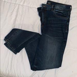 Kut skinny blue jeans